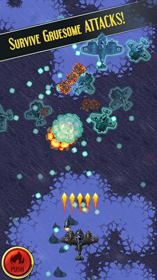 单机游戏 射击 > 帝国神鹰  一款战争题材飞机射击游戏,画面精细,操作