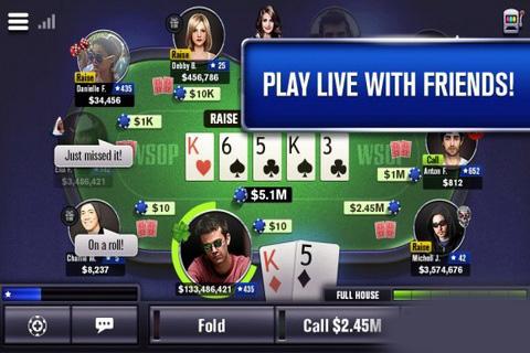 世界职业扑克大赛截图1