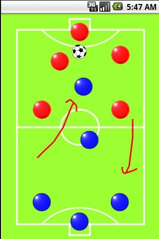 足球战术板截图1
