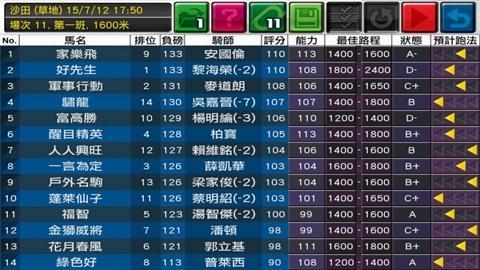 模拟赛马截图2