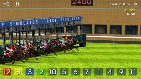 模拟赛马截图1