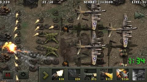 士兵荣耀二战塔防截图4