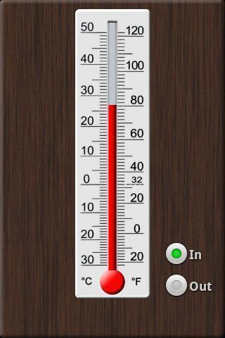 室内室外选项.传统的温度计外观.动画液体.4种液体类型.6款背景.