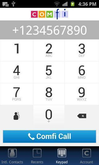 Comfi Dial截图3
