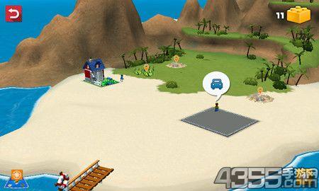 乐高创意百变岛游戏快速通关技巧