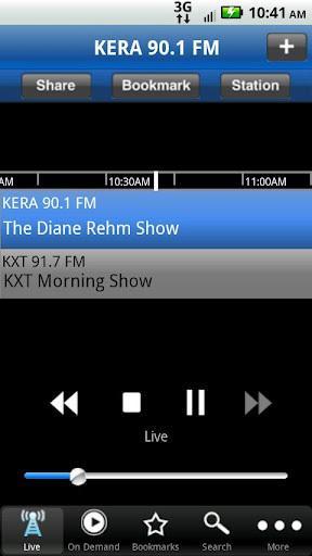 KERA Public Radio App截图1