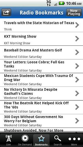 KERA Public Radio App截图3