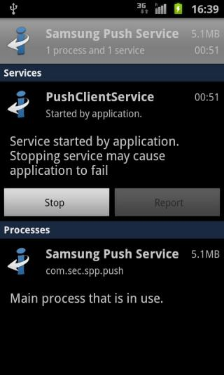 Samsung Push Service截图1