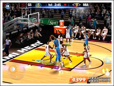 NBA2K14怎么扣篮