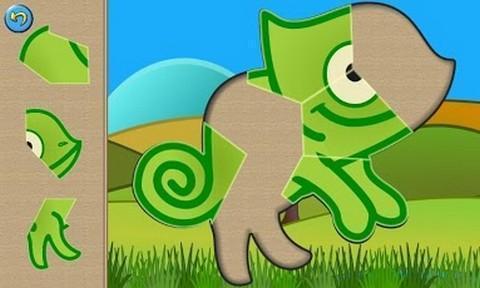 孩子们的恐龙拼图截图3