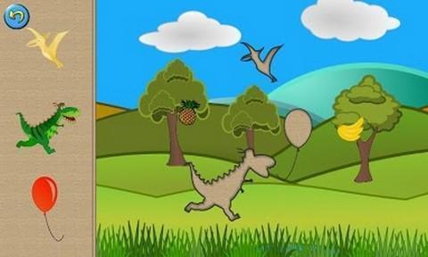 孩子们的恐龙拼图截图4