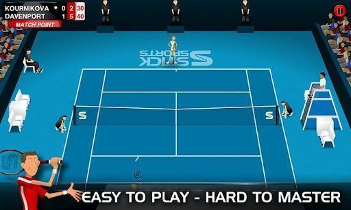 火柴人网球Stick Tennis截图2