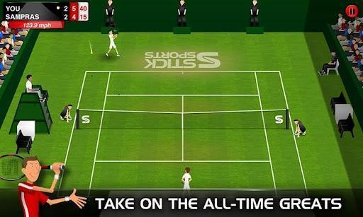 火柴人网球Stick Tennis截图3