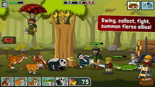 森林防御战猴子传奇电脑版截图1