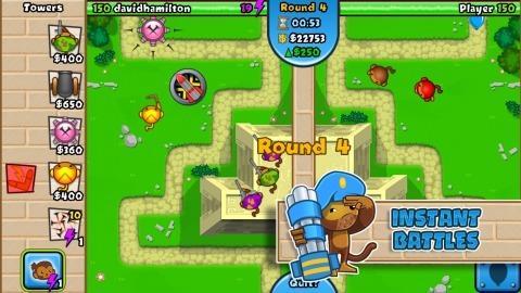 猴子塔防对战截图2