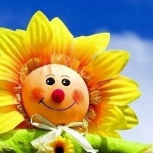 太阳花个性女生微信头像