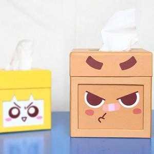 个性卡通盒子头像图片