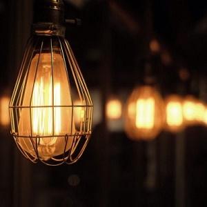 夜晚复古灯唯美风景头像