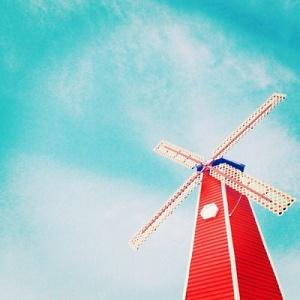 风车唯美意境微信头像图片