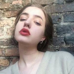 欧美气质个性霸气美女微信头像9