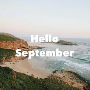 你好带英文九月唯美风景微信头像1