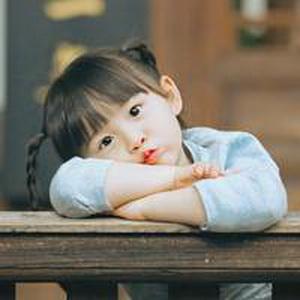 历趣 微信头像 可爱头像 超萌的小女孩微信头像1  手机扫二维下载