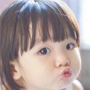 历趣 微信头像 可爱头像 超萌的小女孩微信头像12  手机扫二维下载
