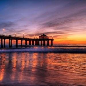 夕阳下的唯美风景头像1