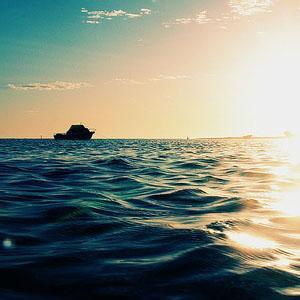 美轮美幻海边风景头像5-微信头像