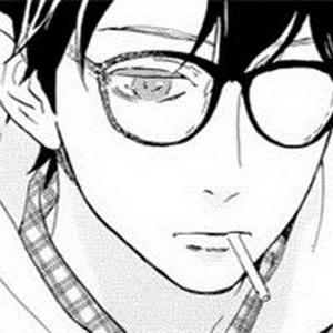 帅气的动漫男生戴眼镜微信头像