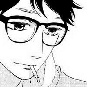 帅气的动漫男生戴眼镜微信头像3
