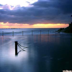 唯美海边风景头像-微信头像