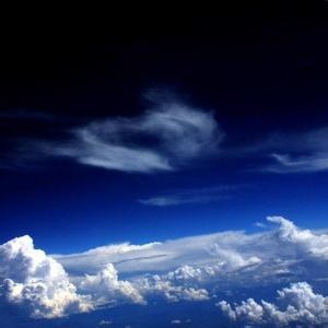 蓝天白云风景头像-微信头像