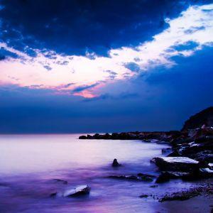 梦幻海边美景风景头像