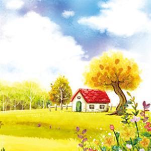 历趣 微信头像 风景头像 田园画浪漫之树风景头像  手机扫码下载 上一