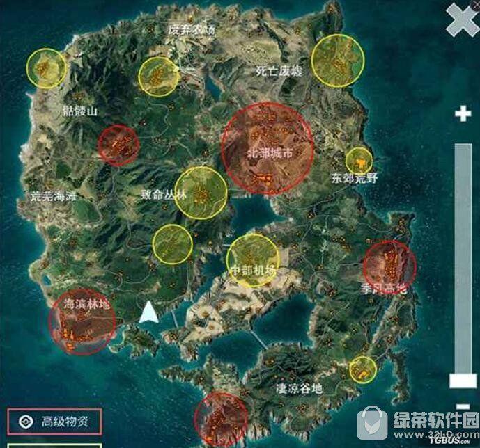 腾讯光荣使命怎么找到好装备 光荣使命地图资源点分布攻略1