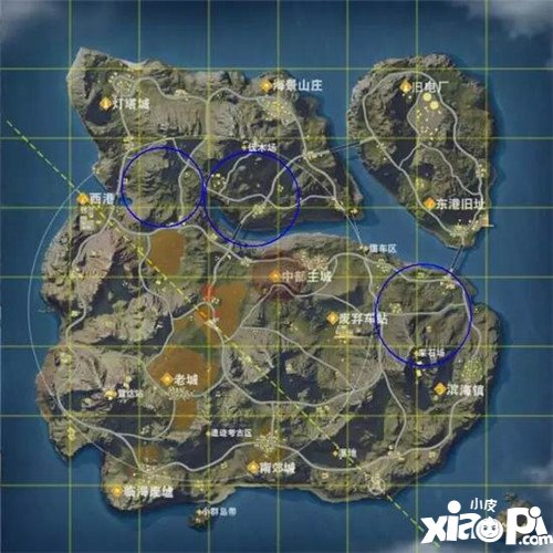 荒野行动直升机航线路径分析 离吃鸡更近一步