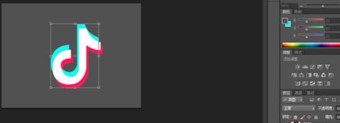 抖音logo用ps怎么做 抖音logo制作方法介绍