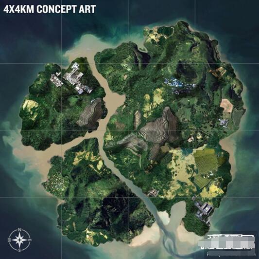 《绝地求生》丛林新地图公布