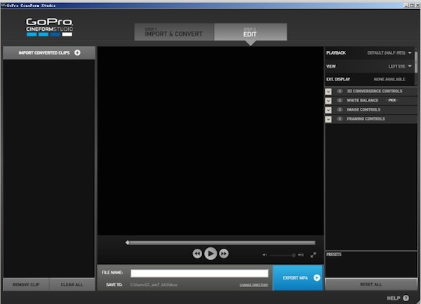 GoPro Studio for mac截图1