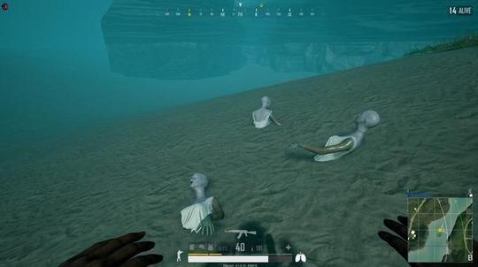 sanjixingaitupian_绝地求生玩家sanhok地图真被蓝洞这个人偶吓到