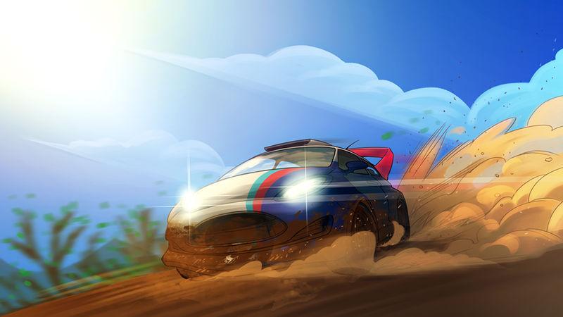 撞头赛车游戏截图1
