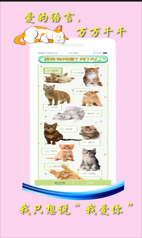 米族人猫交流器截图2