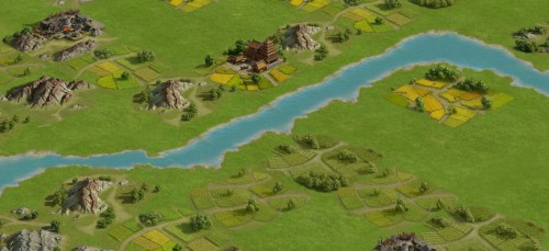 《率土之滨》是以三国地理为蓝本设计大地图,在全新征服赛季中,所有大