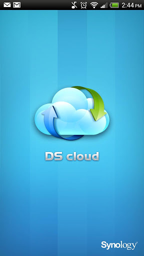 ds cloud android how to connect