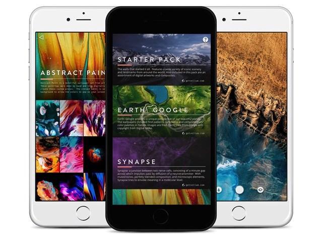 让你的iPhone瞬间拥有免费精选的高质感壁纸