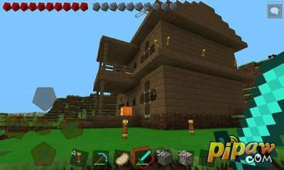 我的世界手机版怎么让村民造房子?1