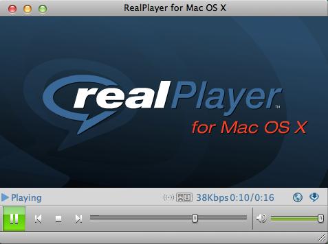 RealPlayer MAC版截图1