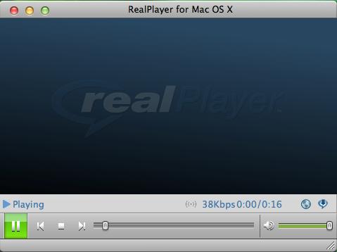 RealPlayer MAC版截图3