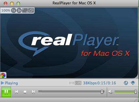 RealPlayer MAC版截图2